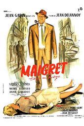 Maigret tend un piège / Jean Delannoy, réal. | Delannoy, Jean. Metteur en scène ou réalisateur
