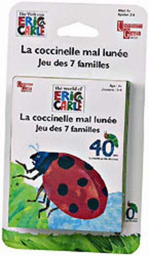 La coccinelle mal lunée : jeu des 7 familles / Eric Carle | Carle, Eric