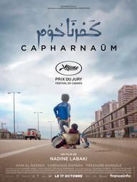 Capharnaüum / Nadine Labaki, réal., scénario | Labaki, Nadine (1974-....). Metteur en scène ou réalisateur. Scénariste