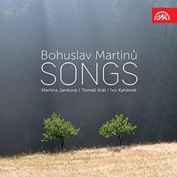 Songs = Mélodies / Bohuslav Martinu  | Martinu , Bohuslav . Compositeur