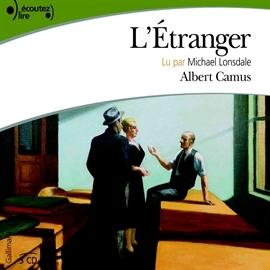 L' étranger : livre parle | Camus, Albert (1913-1960). Auteur
